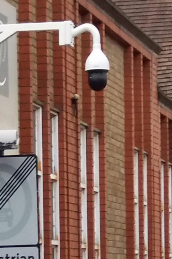 Security Camera in place at St Christopher Place
