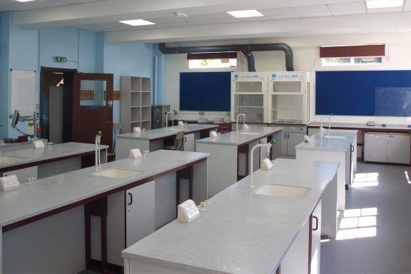 School science laboratory
